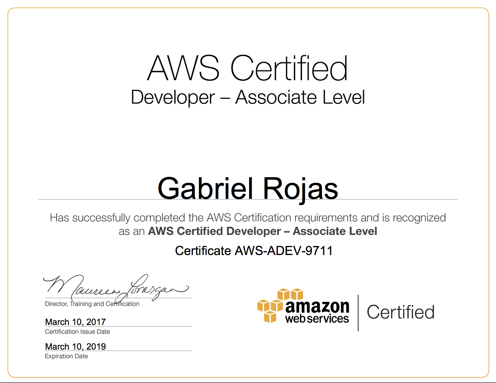 Tips on how to get all 5 aws certifications in 1 month gabes blog 1betcityfo Choice Image