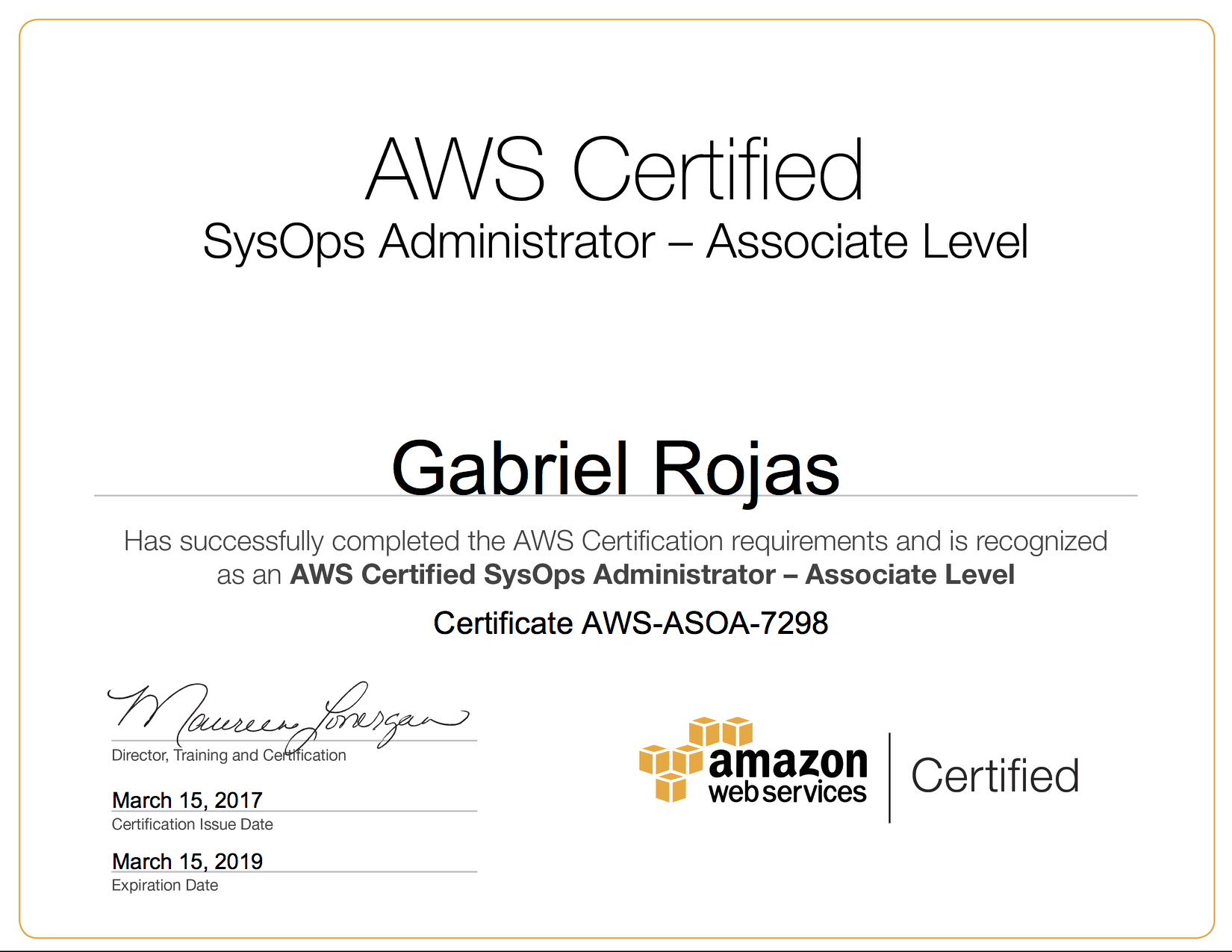 Tips On How To Get All 5 Aws Certifications In 1 Month Gabes Blog