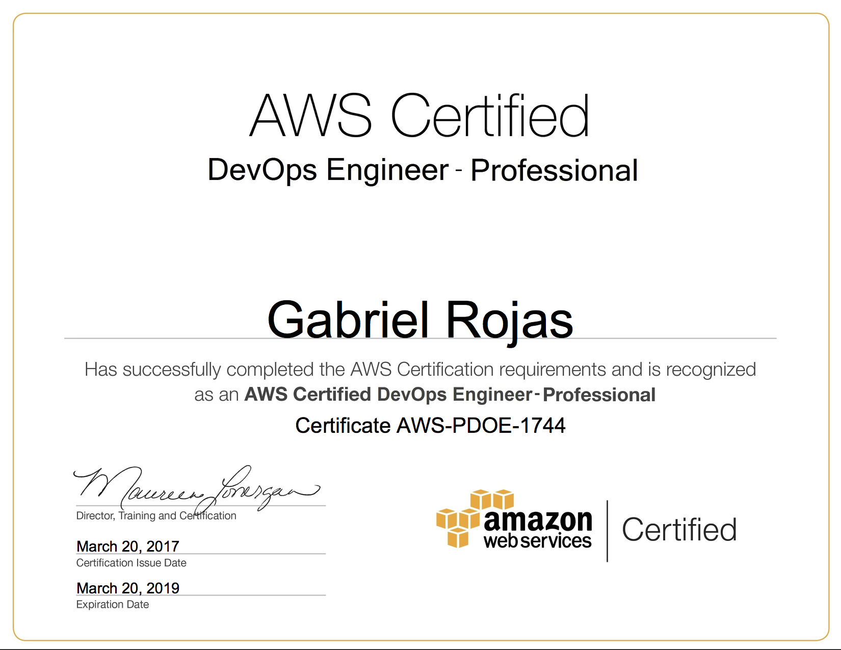 Tips on how to get all 5 aws certifications in 1 month gabes blog xflitez Gallery